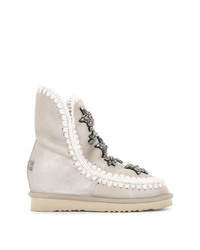 Mou Embellished Snow Boots