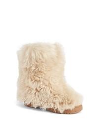 Saint Laurent Genuine Shearling Boot
