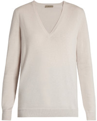 Beige v neck sweater original 1326237