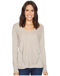 NYDJ Double V Neck Sweater Sweater