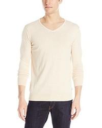Scotch & Soda Classic Cotton Melange V Neck Sweater