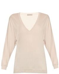 Bottega Veneta V Neck Wool Sweater