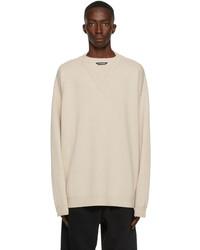 Balenciaga Wool Flatground V Neck Sweater