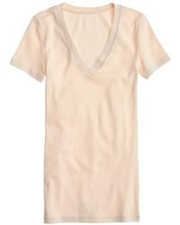 J.Crew Perfect Fit V Neck T Shirt