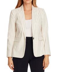 Vince Camuto Stripe Stretch Cotton Jacket