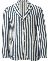 Striped blazer medium 242634