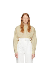 Isabel Marant Off White Silk Macao Shirt