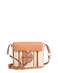 Tory Burch Miller Stripe Crossbody Bag