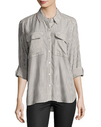Vince Camuto Long Sleeve Stripe Button Down Shirt
