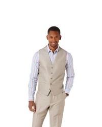 Perry Ellis Broken Twill Suit Vest
