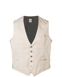 Eleventy Single Breasted Waistcoat