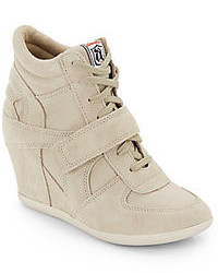 Beige wedge sneakers original 1596129