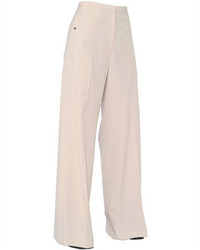 Christophe lemaire cotton wide leg pants medium 469566