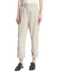 Brunello Cucinelli Corduroy Single Pleat Pants