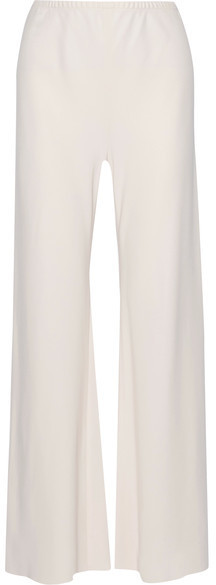 Gala Stretch-cady Wide-leg Pants - Cream The Row sGGJ4