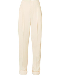 Haider Ackermann Pleated Cotton Blend Pants
