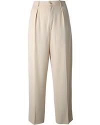 Saint Laurent Yves Vintage Wide Leg Trousers