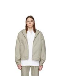 Fear Of God Beige Full Zip Hooded Jacket