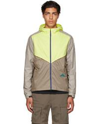 Nike Beige Yellow Windrunner Jacket