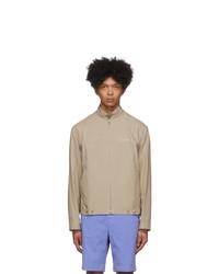 Kenzo Taupe Poplin Jacket