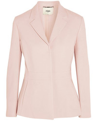Fendi Stretch Wool Blazer