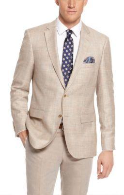 Hugo Boss T Lord Regular Fit Italian Wool Linen Tailored Sport ...