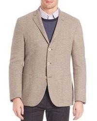 Wool cashmere blazer medium 899372