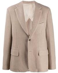 Salvatore Ferragamo Woven Blazer Jacket