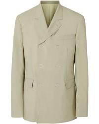 Burberry Slim Fit Press Stud Wool Tailored Jacket