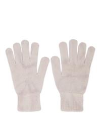 John Elliott Beige Cashmere Tie Dye Gloves