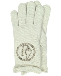 Armani Jeans Signature Wool Blend Gloves