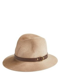 Frye Addie Wool Fedora Burgundy