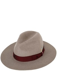 Beaver fur felt brimmed hat with match medium 6870315