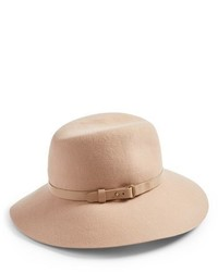 Fanny water repellent wool fedora beige medium 6746200