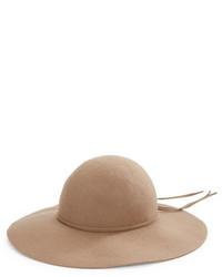 Kathy Jeanne Wool Felt Floppy Hat