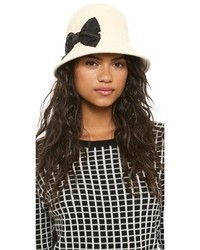 New york shanghai stiched bow cloche hat medium 105372