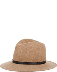 Rag and Bone Rag Bone Floppy Brim Fedora Colorless