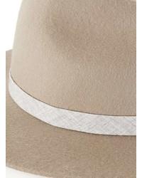Topman Camel Puritan Wool Hat