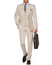 Suitsupply Lazio Slim Fit Solid Wool Three Piece Suit