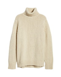Nn07 Cls 6406 Wool Blend Turtleneck Sweater