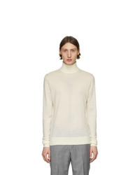 Tiger of Sweden Off White Nevile Turtleneck