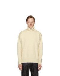 Oamc Off White Whistler Turtleneck