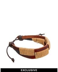 Beige Woven Bracelet