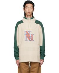 Napa By Martine Rose Beige Green B Modena Sweater