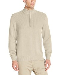 Izod Saltwater Solid 14 Zip Sweater