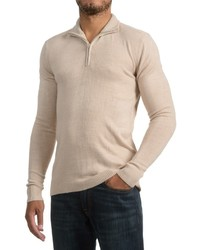 Specially Made Zip Neck Sweater