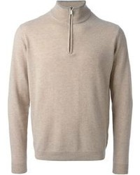 Zipped turtle neck sweater medium 89251