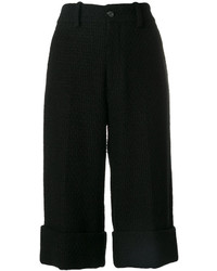 Bermudas de tweed negras de Gucci