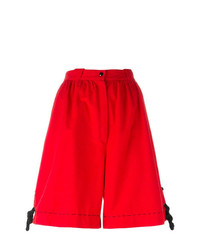 Bermudas rojas de Thierry Mugler Vintage
