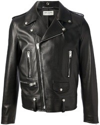 A black jumper and a moto jacket are both versatile essentials that will give your outfits a subtle modification.